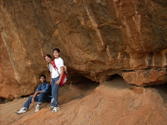 Ramadevarabetta - again (Arun  Katiyar) Tags: rock climb hill bangalore hike ramanagaram ramadevarabetta