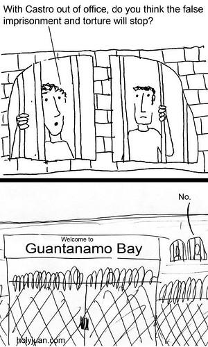 Castro's Out copy