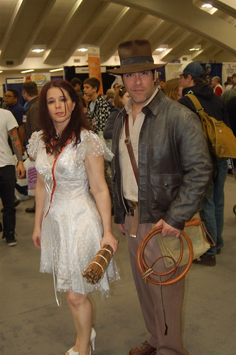 Wonder Con 2008: Marion Ravenwood and Indiana Jones