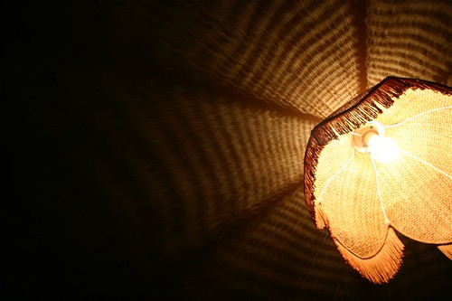 Lampshade. Eden, New South Wales.