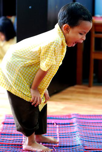 A day at a Kindergarten