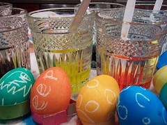 Easter Eggs (Shutterfool) Tags: food color bunny easter sunday eggs dye canning preserving