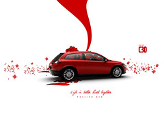Passion Red Volvo c30 (Gui Rio) Tags: desktop wallpaper illustration gteborg volvo sweden gothenburg sverige gotland svenska gotheborg c30 volvoc30 volvoc30wallpaper volvoc30wallpapers volvoc30desktopwallpaper c30wallpaper c30wallpapers