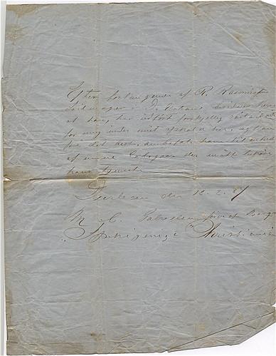 Letter RJR 1887