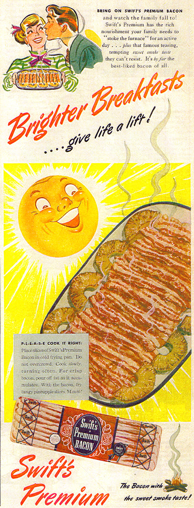 Vintage Ad #523: Brighter Breakfasts Give Life A Lift