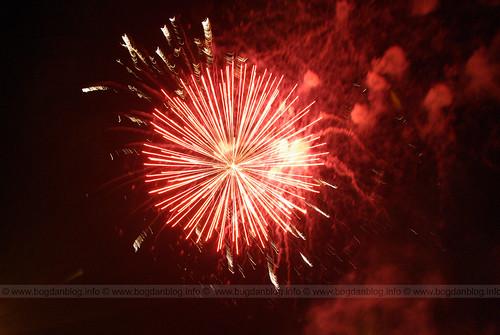 Artificii @ Zilele Orasului Botosani 2008
