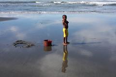 Betaf (Mangiwau) Tags: new girls boy sea baby black west beach boys girl kids indo