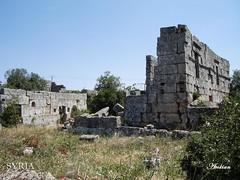 Mjlia location of byzantine ruins
