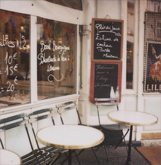 cafeonilestlouis (danske) Tags: travel paris polaroid cafe ilestlouis