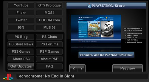 ps3 web browser portal