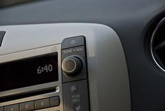 2009 Pontiac Vibe GT   Stereo Control Detail (Zane Merva - AutoInsane.com) Tags: beach car automobile cloudy review professional vehicle pontiac 2009 hatchback vibe crossover roadtest zanemerva autoinsane