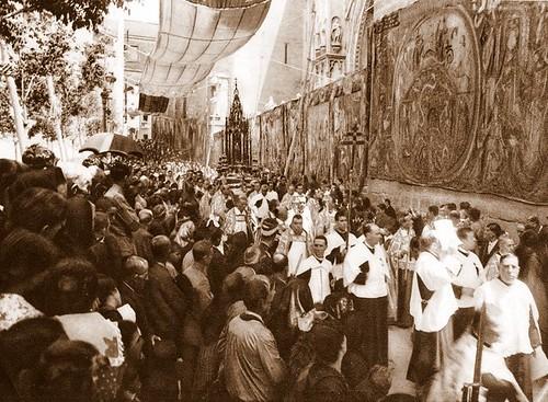 Corpus a principios del siglo XX (Fotografía Rodríguez)