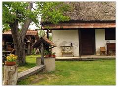 sparhelt az eresz alatt / csa, peasant house museum (.e.e.e.) Tags: county architecture hungary village olympus pest peasant e400 csa abigfave