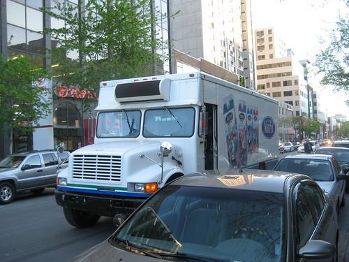 Truck in Canada