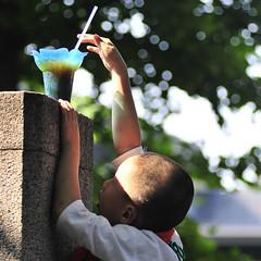 small boy, BIG DREAM (ajpscs) Tags: street boy japan japanese tokyo nikon  nippon  asakusa loincloth  sanjamatsuri fundoshi asakusashrine photostory pedestal smallboy d300 ajpscs sanjafestival bigdream