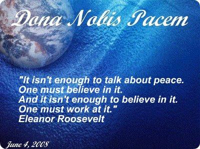Peace Globe 2008