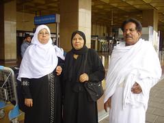 Ammi, Khala & Abbo at Karachi Airport (Family No. 1) Tags: park pakistan cute girl cat airport momo ammi picnic shrek muslim islam hijab saudi arabia karachi hamza sweety khala animator adeel hussain umra ghulam maham talha bisma ummul musalman abboo qura