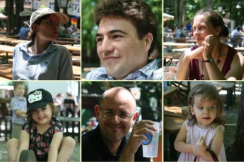 Portraits Biergarten