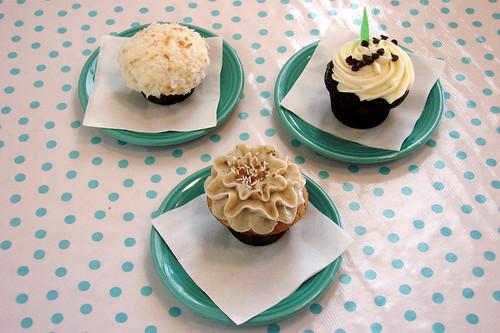 Trophy Cupcake Trio