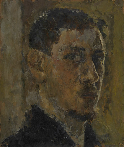 Barry Fantoni: Self Portrait, 1957
