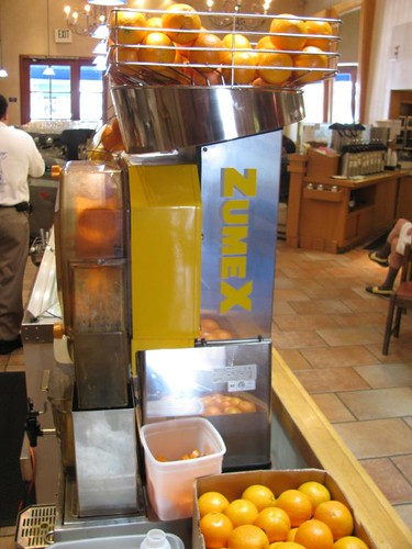 orange juice burlingame zumex extractor