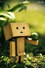 Is it a Ball or a  Fruit? (AdrianWee) Tags: toys figure yotsuba danbo revoltech danboard anfanglove