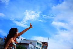 2007-0617-0539 (BlueJeff) Tags: travel blue sunset sea summer sky woman baby girl beautiful beauty portraits sunrise landscape asian island model pretty hand princess sweet group wide taiwan scene babe cutie southern journey shore  kotori  vifico