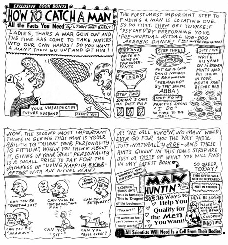 """How To Catch A Man"" by Lynda Barry"