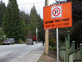 But parking restrictions have helped