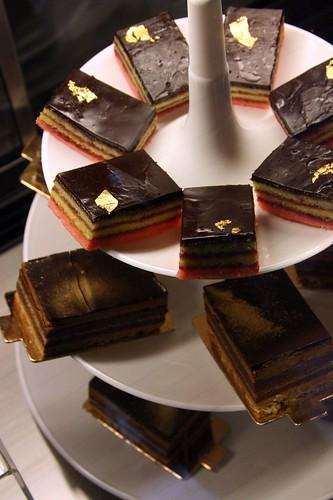 Italian trio cakes and Opera cakes