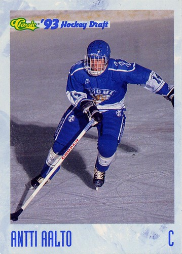 Antti Aalto, Finland, Hockey card, Classic Draft Picks, 93 94
