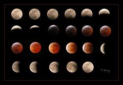 Fotogramas de un eclipse total de luna  03/MAR/2007 (Jos Luis Prez Navarro) Tags: moon eclipse satellite astro luna astronomy astronomia satelite celestialbody amazingtalent superbmasterpiece megashot blacky2007