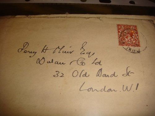 Percy Muir letters