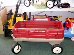 radio flyer red wagon