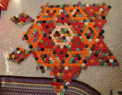 progress on quilt