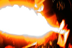 abstract fire (The Lady Robin) Tags: longexposure abstract fire robbie breathingfire atone firebreath houseofshock spittingfire paintribe