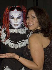 Show that SAL-E was a guest on for a while gets award two years in a row (SAL-E) Tags: california chicago podcast night radio out drag la doll artist dress sale live clown makeup saturday freak ronnie muppet maid meet greet clubkid