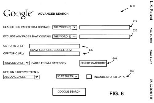 An Alternative Google Advanced Search