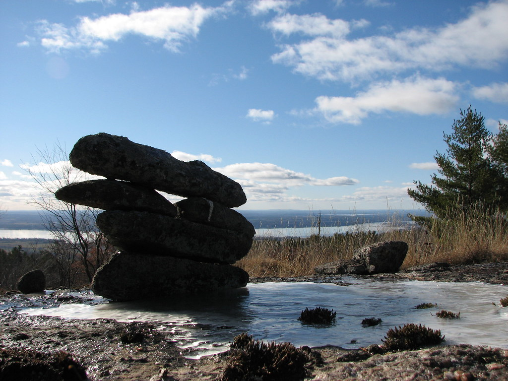 Inukshuk with a view