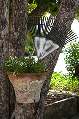 La Sagesse Courtyard (SunCat) Tags: travel vacation all grenada caribbean 2007 lasagesse