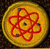 atomic engery badge