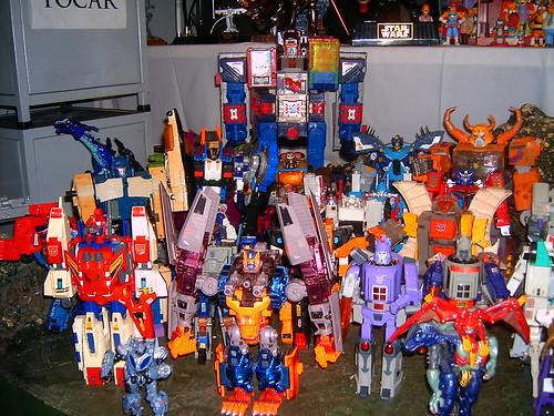 Exhibición de Transformers, Star Wars y otras figuras en el Paseo de las Flores, Heredia, Costa Rica. (09-Dic-2007)