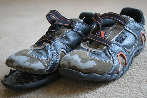 stinky rotten kid shoes