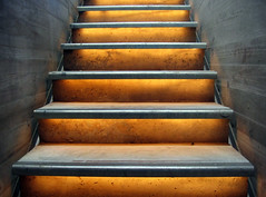 escaleras (hansbrinker) Tags: light luz stairs concrete top20arch escaleras zaha hadid zahahadid hormigon