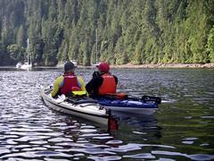 IMGP1064 (spuzzum42) Tags: k kayak victoria kayaking brentwoodbay todinlet