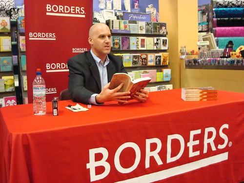 Jon's book signing