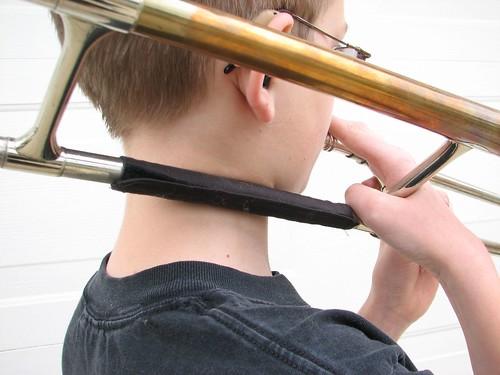 trombone cozy
