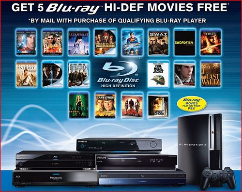 5 Free Blu-Ray Movies With Purchase Of Player - 2145200426 E2E153C614 2