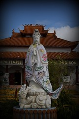 Guan Yin (Quan Yin, Kannon) - Goddess of Mercy (kinjotx) Tags: temple texas houston buddhism quanyin goddessofmercy teochewtemple assignmenthouston21