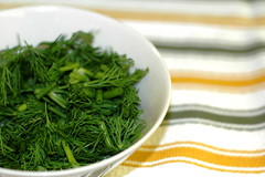 lovely, fresh, chopped dill